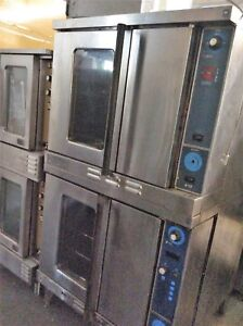 Duke 613 g2 Gas Double Section Convection Oven Standard Depth