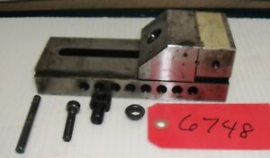 Used Tool Makers Precision Grinding Vise 2 3 4 X 7 1 2 Machine Shop Free Ship