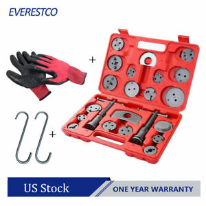 Set 22pcs Universal Disc Brake Caliper Brake Piston Wind Back Rewind Hand Tools