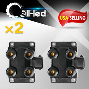 2x Ignition Coil Packs Dg458 For 1997 1999 Ford F150 F250 4 6l V8 Dg457 Dg457
