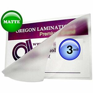 Mil Matte Menu Laminating Pouches 12 18 Qty 100 Write On Laminator Sleeves