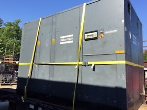 Used Atlas Copco Ga 200w Air Compressor