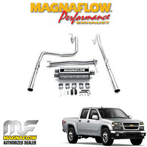 Magnaflow 2 5 Cat Back Dual Exhaust System 2004 2012 Chevy Colorado 15847