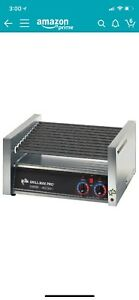Table Top King Grill Max Pro 50st 50 Hot Dog Roller Grill With Analog Control