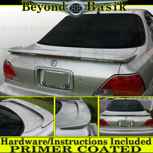 1996 1997 1998 Acura Tl Factory Style Trunk Spoiler Wing W Led Primer