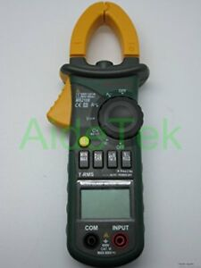 Mastech Ms2108 True rms Ac dc Clamp Meter With Inrush Current Measurement