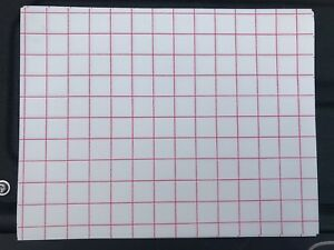 Heat Transfer Paper light Colored T shirt Red Grid 8 1 2x11 500 Sheets