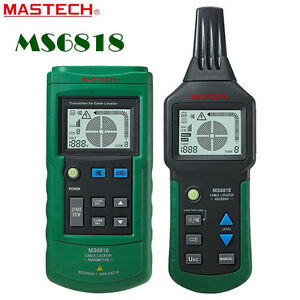 Mastech High Sensitivity Ac dc Wire Tracker Cable Pipe Locator Detector Test