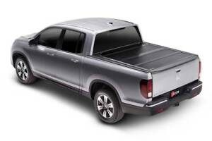 Bak Fibermax Hard Folding Tonneau 5 bed Cover For 17 18 Honda Ridgeline 126602