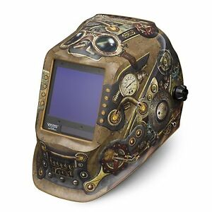 Lincoln Viking 3350 Series Steampunk Auto Darkening Welding Helmet k3428 3
