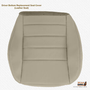 2006 2007 2008 2009 2010 Dodge Charger Driver Bottom Gray Leather Seat Cover
