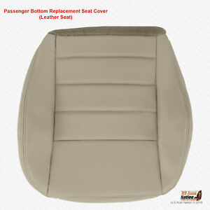 2008 2009 Dodge Charger Passenger Bottom Gray Leather Replacement Seat Cover