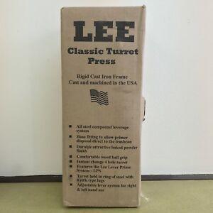 Lee Precision Classic Turret Press (Red) NOS 90064