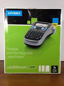 Dymo Labelmanager 260p Direct Thermal Label Printer 66 Faster Free Shipping