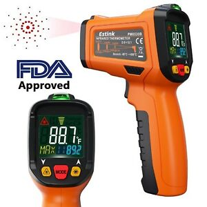 Es6530b Non contact Digital Laser Ir Infrared Thermometer Temperature Gun For