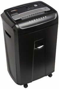 Amazonbasics 24 sheet Cross cut Paper Cd And Credit Card Shredder With Pull