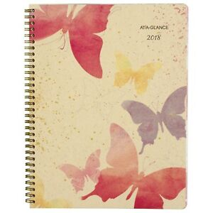 At a glance Weekly Monthly Planner January 2018 December 2018 8 1 2 X