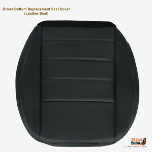 2008 2009 2010 Dodge Charger R t Driver Bottom Leather Seat Cover Dark Gray