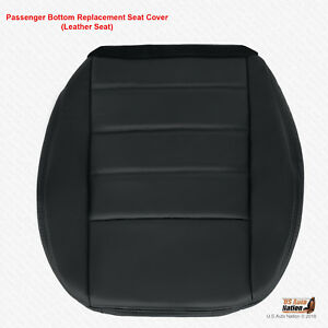 2008 2009 2010 Dodge Charger Se Passenger Bottom Dark Gray Leather Seat Cover