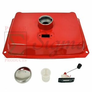 New 4 Gallon Red Fuel Tank Fits Sigma Silent Enclosed 5 7kw Diesel Generator
