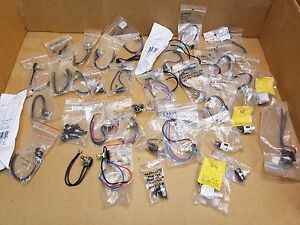 Lot 43pc Mixed Rotary Momentary Push Button Switch Carling Switch serva a lite