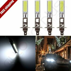 4x H1 High Quality Cree Led Headlight High Low Beam Light Smd Bulbs Vehicle Lamp