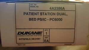 Dukane Procare Pc 6000 Nurse Call Dual Patient Station 4a2386a New
