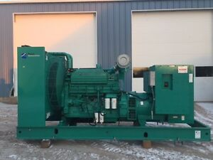 _500 Kw Cummins Onan Generator 12 Lead Reconnectable 1 3 Phase 399 Hours