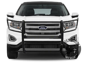 Black Horse 16 19 Ford Explorer Black Grille Brush Guard Bumper Protector Nudge