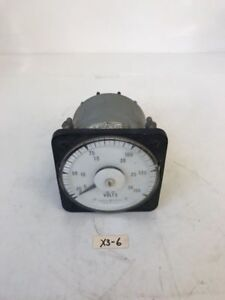 Ge Ac Voltmeter 234 16 143 fast Shipping Warranty