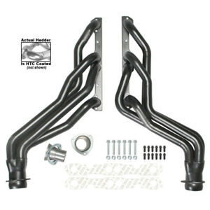 Hedman Exhaust Header 69446 1 5 8 X 3 Htc Coated For Chevy Trucks 305 350 Sbc