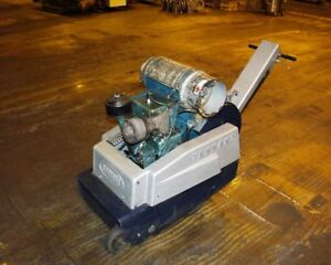 Tennant K 4 Wire Brush Floor Cleaner Good Condition Motor Rebuilt In 2004