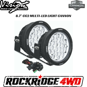 Vision X 8 7 Cg2 Multi Led Light Cannon Gen 2 Pair W Harness