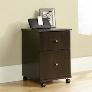 Sauder Mobile File Cabinet Cherry