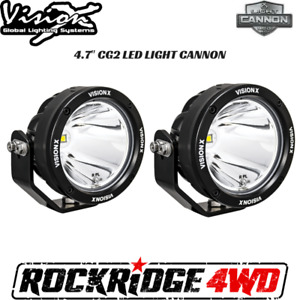 Vision X 4 7 Cg2 Led Light Cannon Gen 2 Pair W Harness Cg2 Cpz110kit