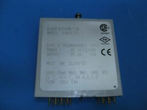 Dataforth Scm5b37 Type R Linearized Thermocouple Input Module Used