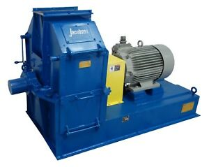 Jacobson Hammermill 24214dtf 50hp Grinder Crusher Pulverizer For Wood Chips Corn