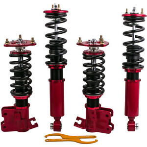 Fit Nissan 180sx 200sx Silvia S13 Suspension Spring Full Coilovers Kit Tct