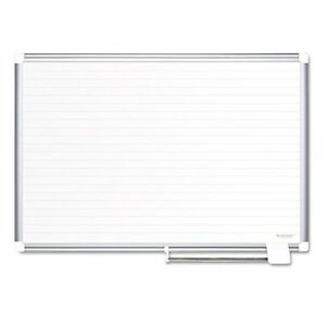 Mastervision 72 X 48 In Ruled Planning Dry Erase Board