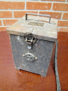 Vintage Syntron Electric Jack Hammer Control Box steampunk Industrial