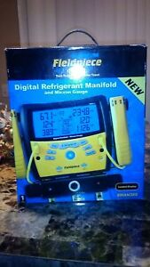 Fieldpiece Sman 360 Digital Gauges W built in Micron Gauge Mint Cond