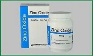 10 X Zinc Oxide Powder By Prevest Denpro