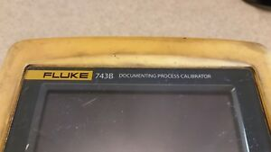 Fluke 743b Documentation Process Calibrator