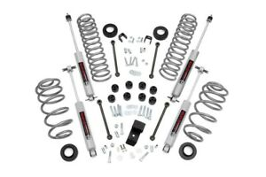 Rough Country 3 25in Jeep Suspension Lift Kit 97 02 Tj Wrangler N3 Shocks 6cyl