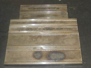 3 Different Sets Of Toolmaker Machinist Parallels