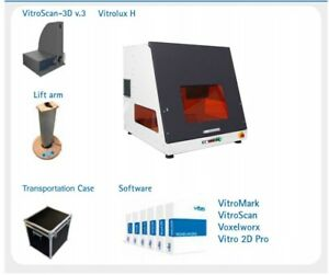 Vitro Vitrolux H Subsurface Laser Engraver And 3d Cammera scanner