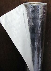 4 x50 Solid White Radiant Barrier Solar Attic Foil Reflective Insulation Shield