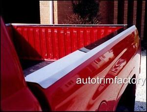Bed Rail Caps Fits Chevy C k Truck Short Bed 88 98 Mirror Stainless Steel Set 2