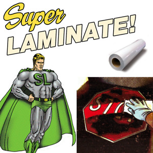 Super Laminate Graffiti Proof Uv Block Cold Psa 54 X 30 Roll Lamination Film