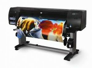 Hp Z6100ps 60 Printer Plotter Photo Design Poster Canvas With Inks N Printheads